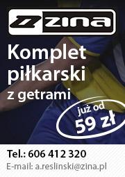 Komplet piłkarski z getrami już od 59 zł